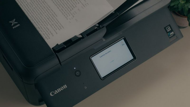Scanning from PIXMA to mobile device or cloud services is a breeze using the Canon PRINT app