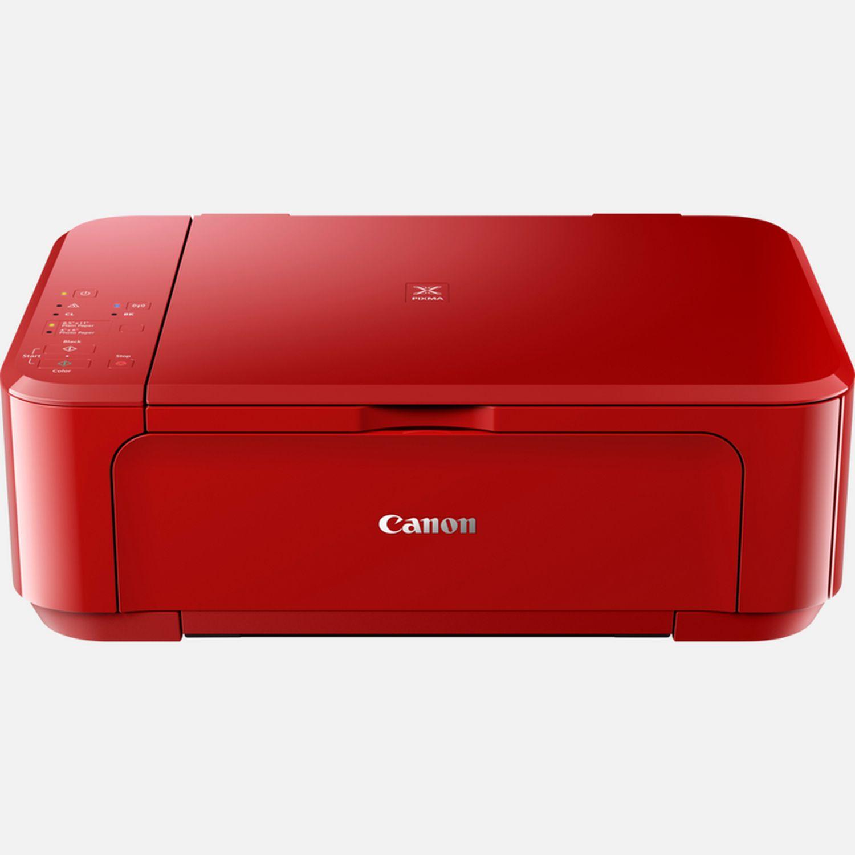 Canon PIXMA MG20S Tintenstrahl Multifunktionssystem, Rot in WLAN Drucker