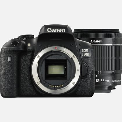 Canon EOS 750D + objectif 18-55mm IS STM