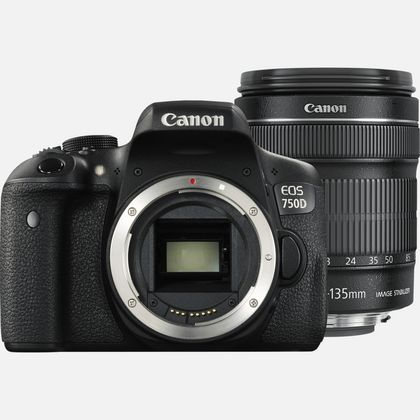 Canon EOS 750D + objectif 18-135mm IS STM