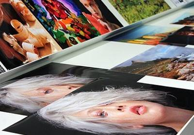Multiple printed pictures