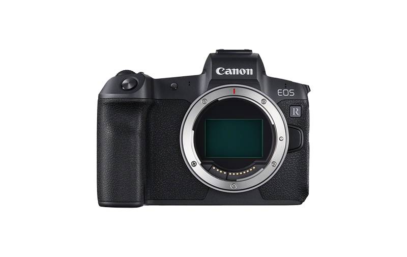 EOS R front body