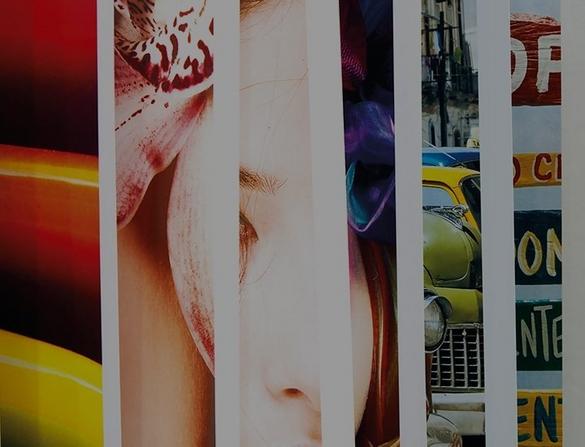 Abstract print image