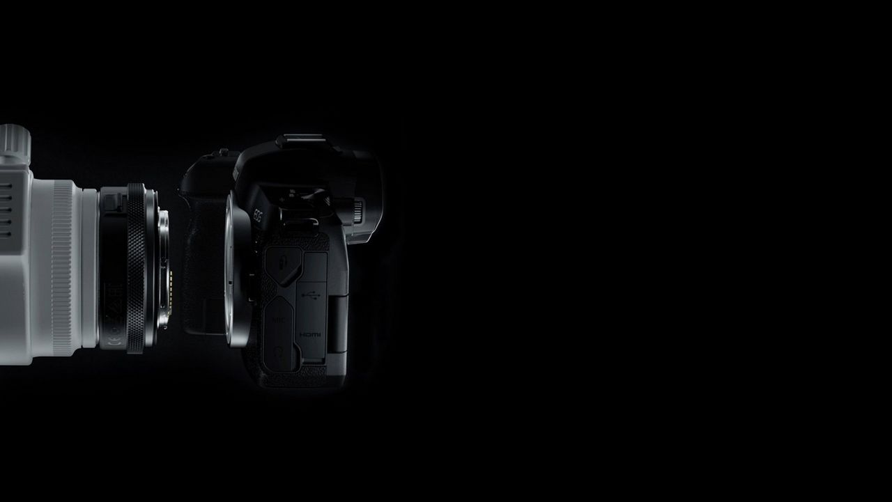 EOS R adapter accessories