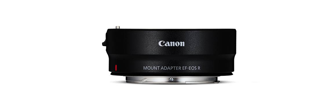 Canon EOS R Mount Adapter EF-EOS R Adapter - EF-S and EF Compatible