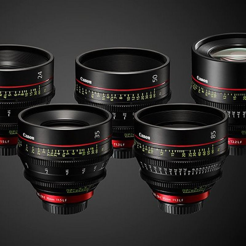 Canon cine lenses