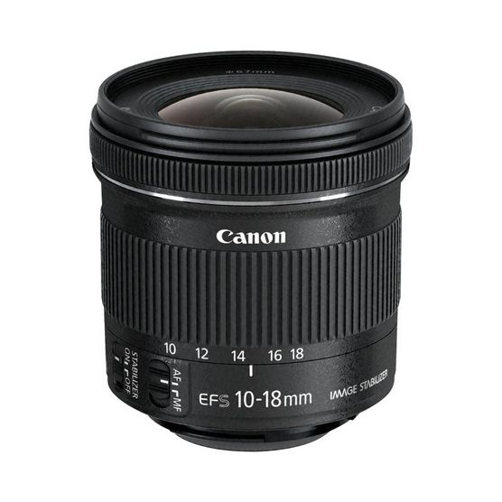 Canon EF-S 10-18mm lens