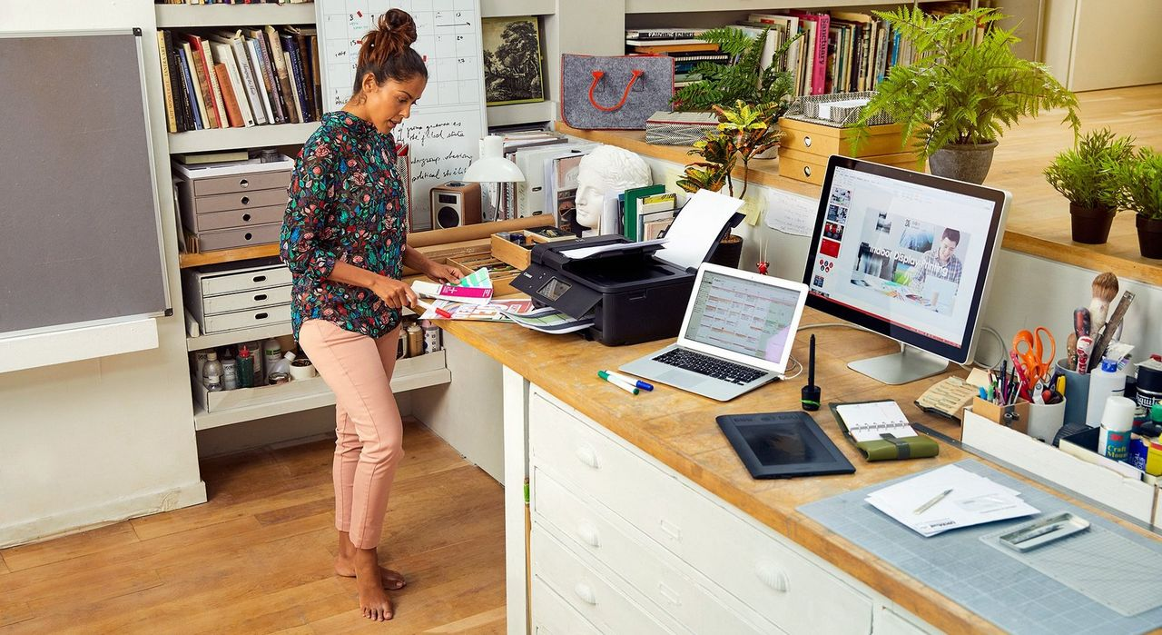 Explore our range of Home Office printers and All-In-Ones to find the best solution for you.