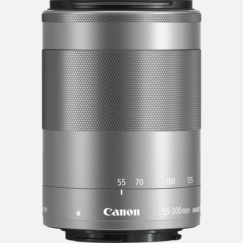 Obiettivo Canon EF-M 55-200mm f/4.5-6.3 IS STM - Argento