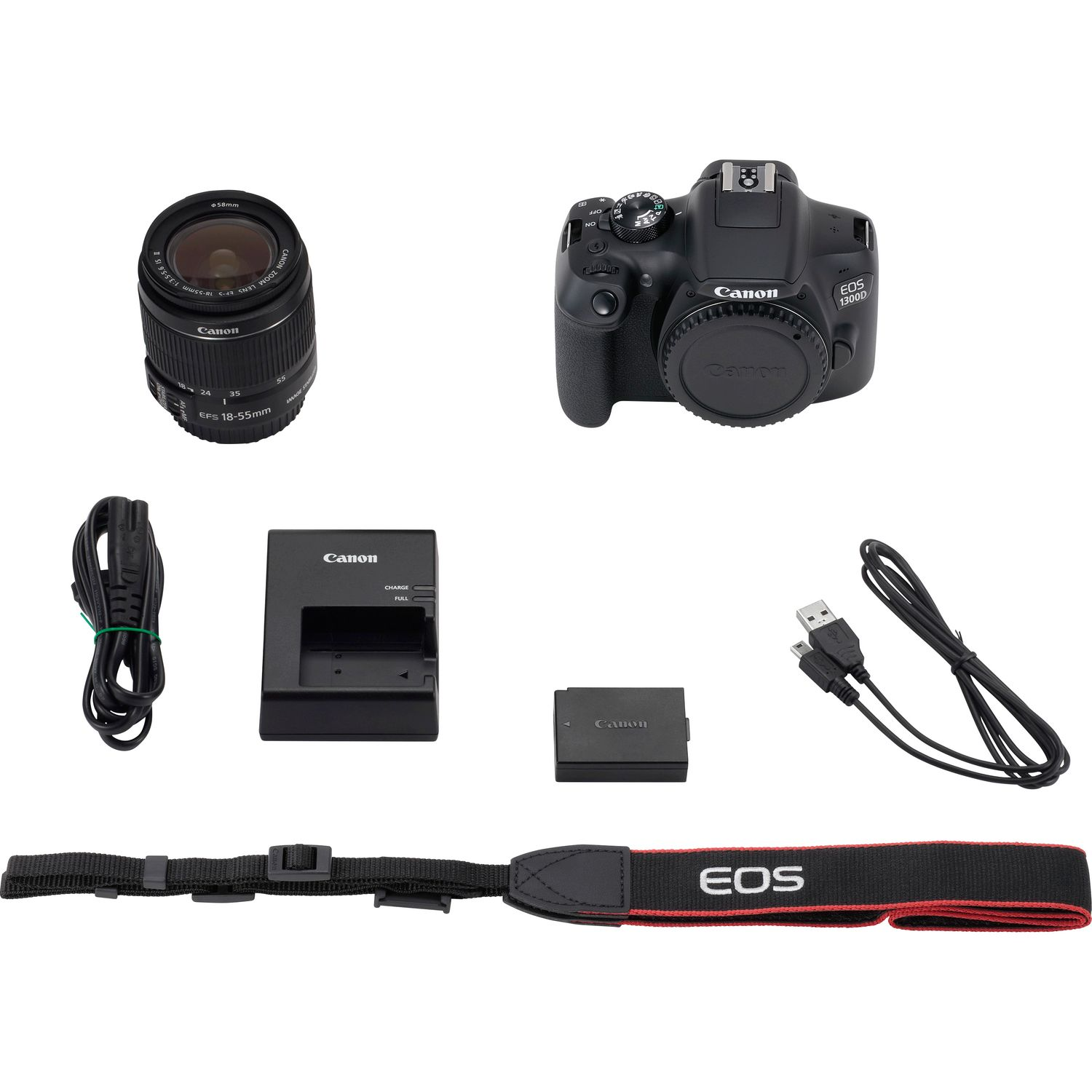 Buy Canon EOS 1300D + 18-55mm IS II Lens in Entry Level DSLR