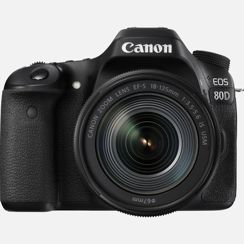 Canon EOS 80D + obiettivo 18-135mm IS USM