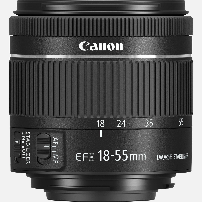 Obiettivo Canon EF-S 18-55mm f/4-5.6 IS STM