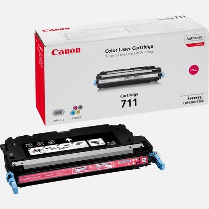 Cartouche de toner magenta Canon 711M