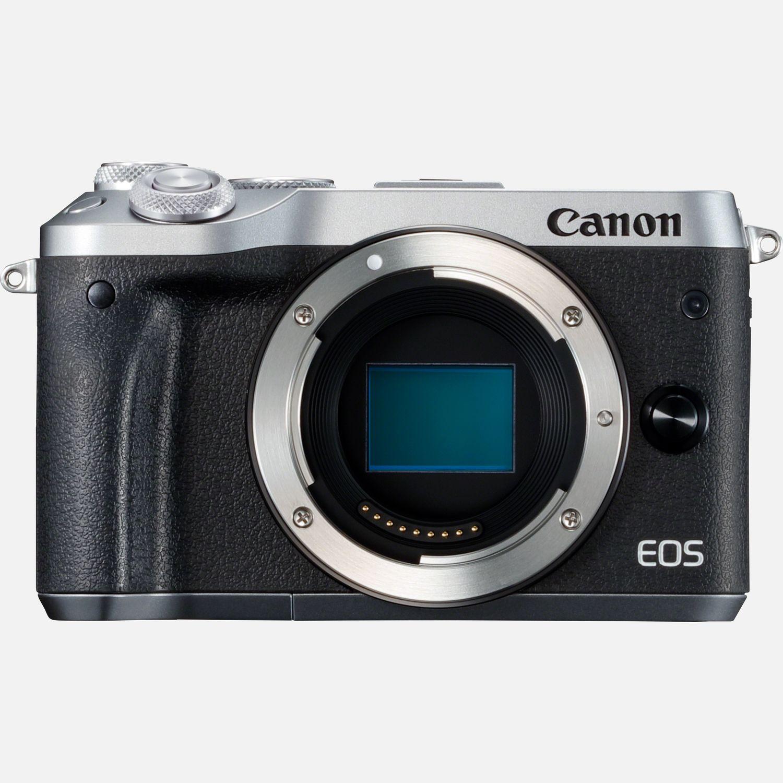 Corpo Canon EOS M6 - Argento