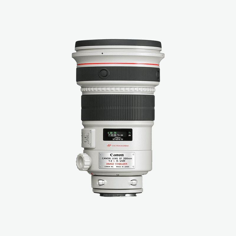 EF 200mm f/2L IS USM L series Lense