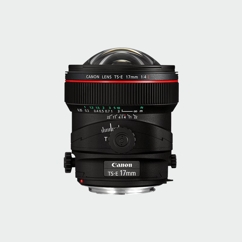 TS-E 17mm f/4L L series Lense