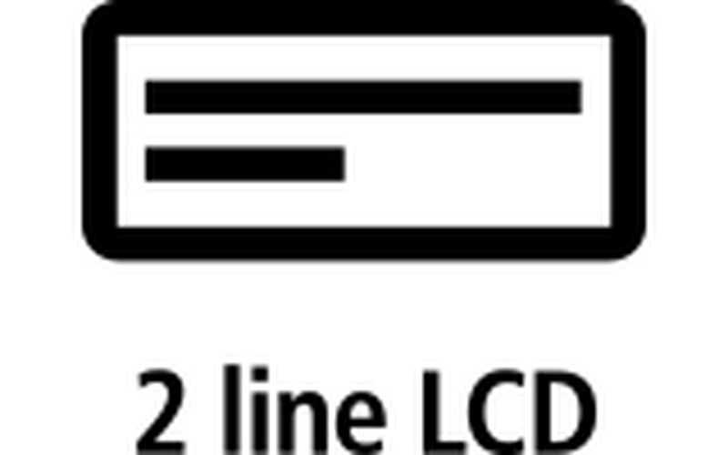 2 line LCD