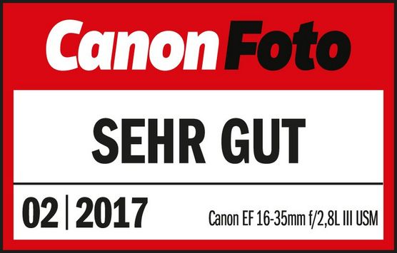 201702 Canon EF16 35 2K8L III USM CanonFoto Sehr Gut