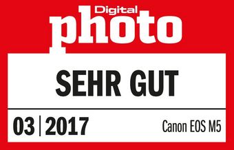 201703 Canon EOS M5 Digitalphoto Sehr Gut