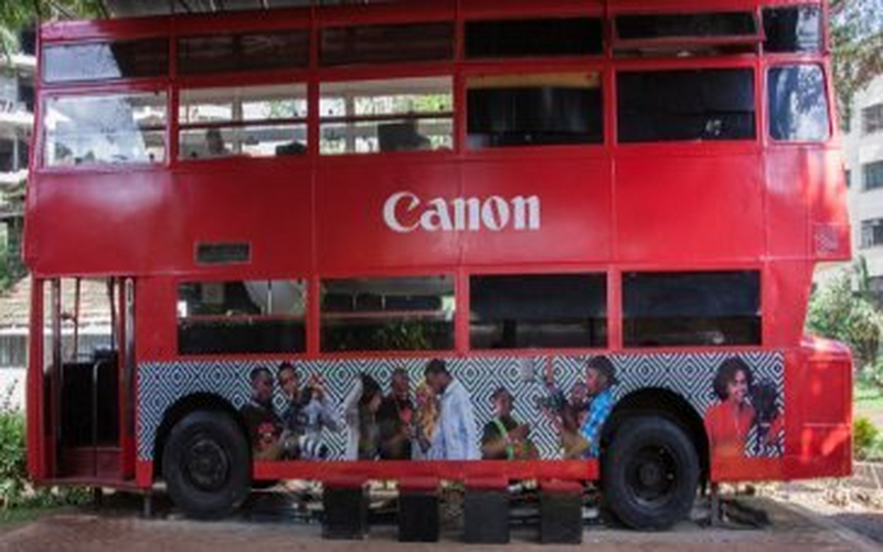 Canon Europe celebrates results of African sustainability programme and the launch of a new creative training hub in collaboration with The NRB Bus