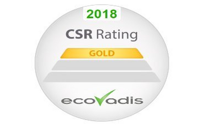 Canon awarded gold rating from EcoVadis for sustainability