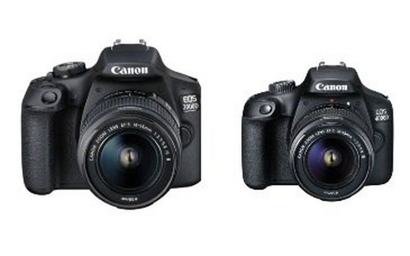Step up to effortless DSLR storytelling with Canon's new EOS 2000D and EOS 4000D cameras