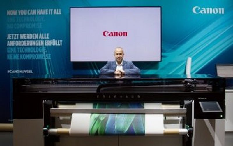 Canon guides FESPA 2018 visitors to explore multiple paths to business improvement and growth