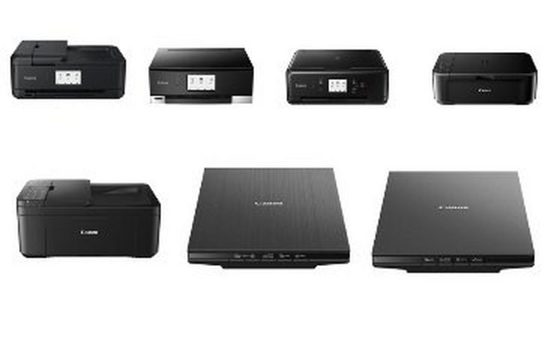 Canon Europe unveils its latest range of PIXMA inkjet printers and new CanoScan scanner series
