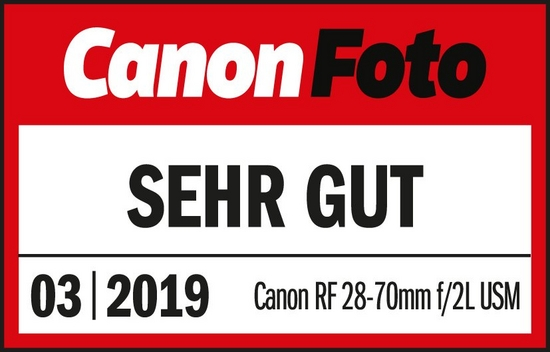 201903 Canon RF 28-70 F2L USM CanonFoto Sehr Gut