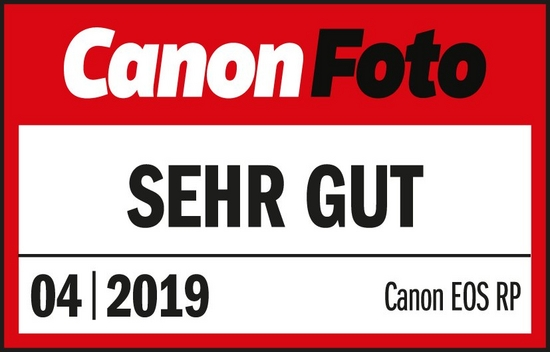 201904 Canon EOS RP CanonFoto Sehr Gut