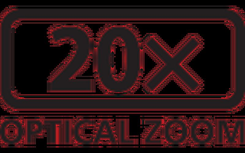 20x optical zoom icon