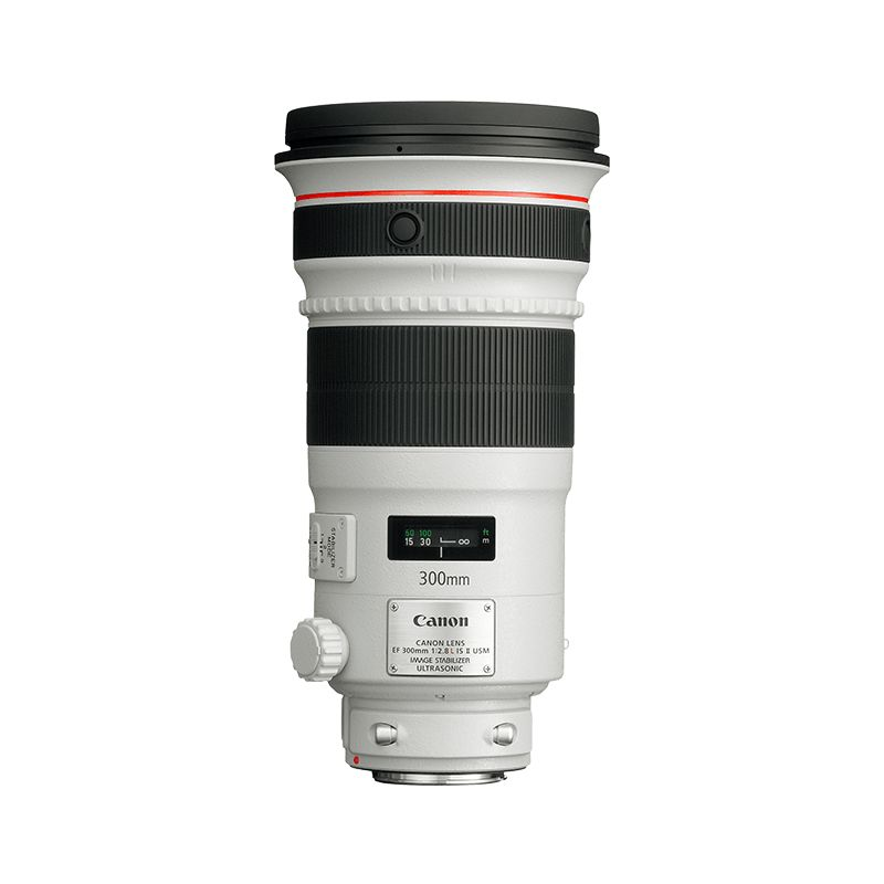 EF 300mm f2.8L IS USM pack shot