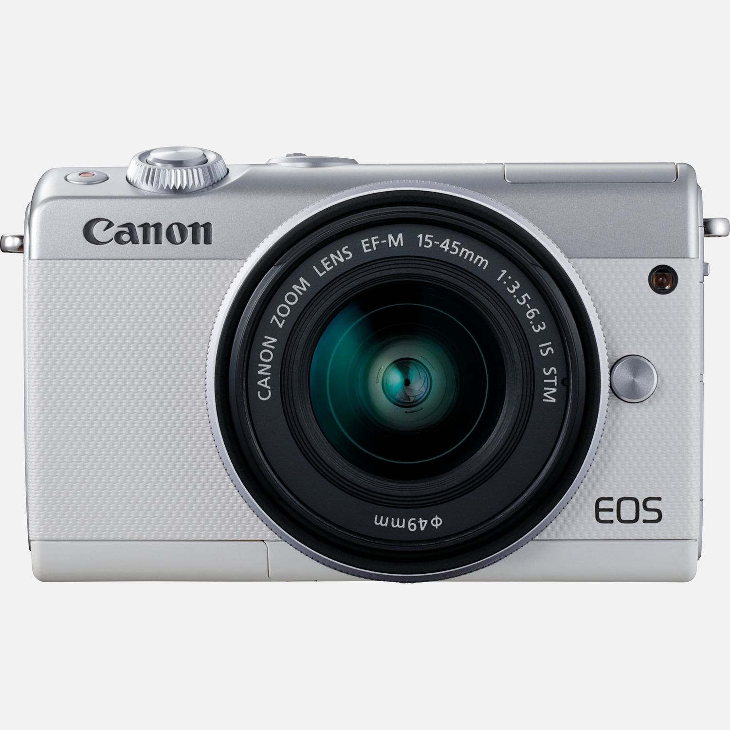 Buy Canon EOS M100 White + EF-M 15-45mm f/3 5-6 3 IS STM Lens Silver