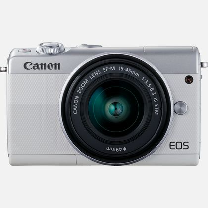 Canon EOS M100 systeemcamera Wit + 15-45mm IS STM Zilver Limited Edition