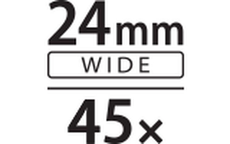 24mm 45x zoom