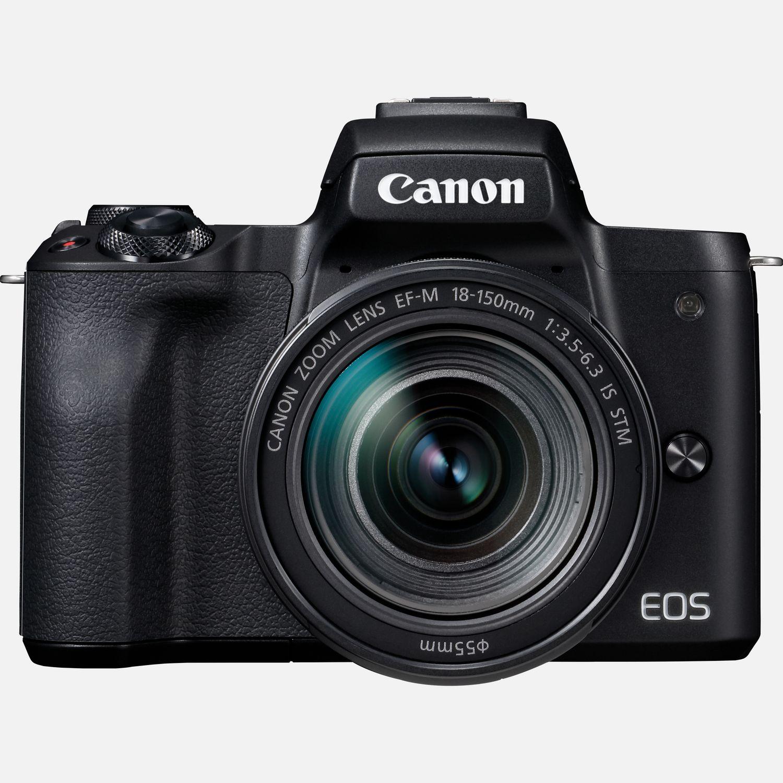 Boîtier Canon EOS M50 + objectif EF-M 18-150mm IS STM – Noir