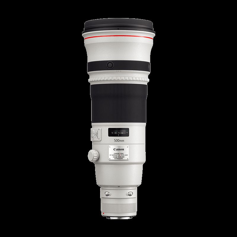 EF 500mm f/4L IS II USM L series Lense