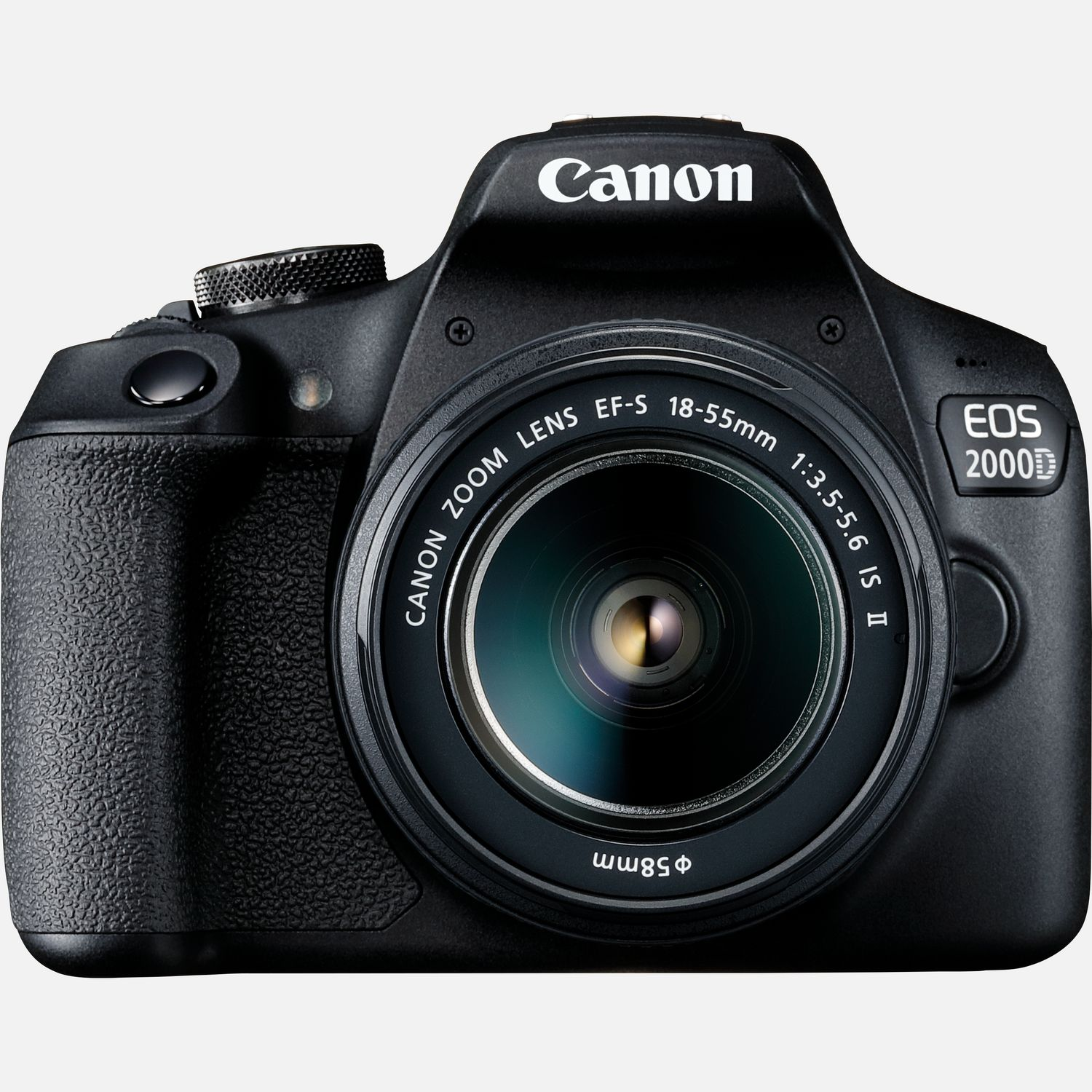Image of Canon EOS 2000D and EF-S 18-55mm IS II Lens