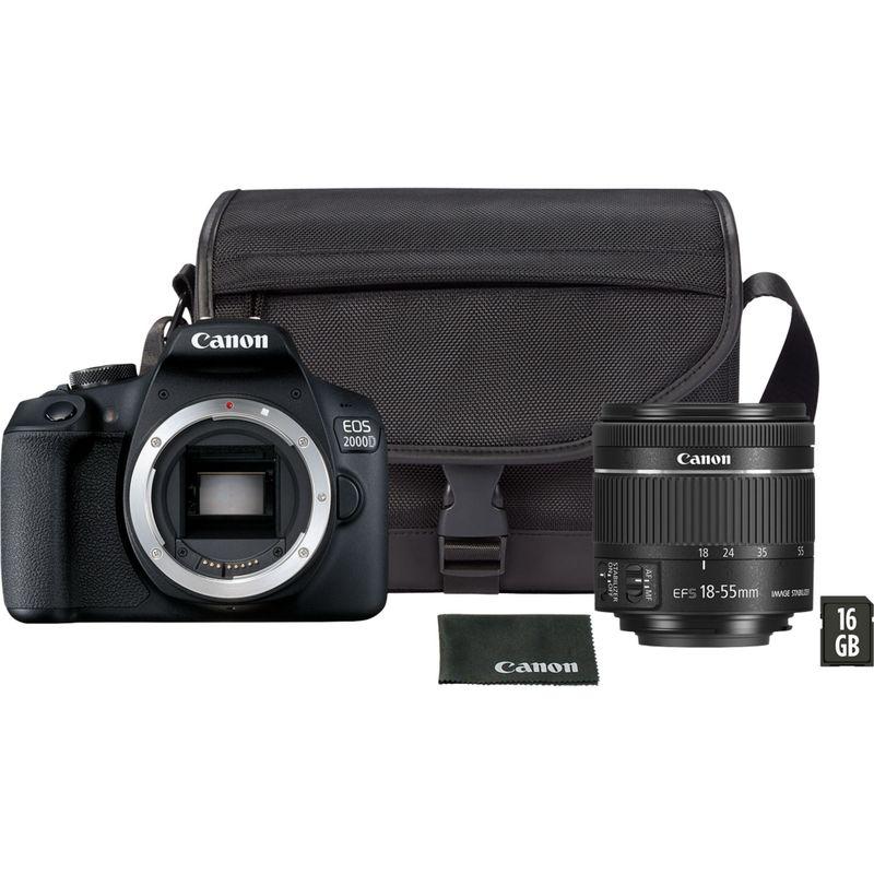 Canon Eos 2000d: Buy Canon EOS 2000D + EF-S 18-55mm IS II Lens In Wi-Fi