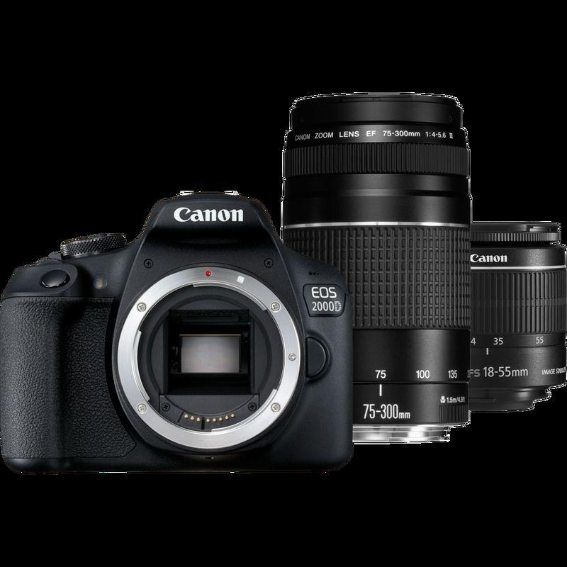 Canon EOS 2000D + obiettivo EF-S 18-55mm IS II - Promo ...
