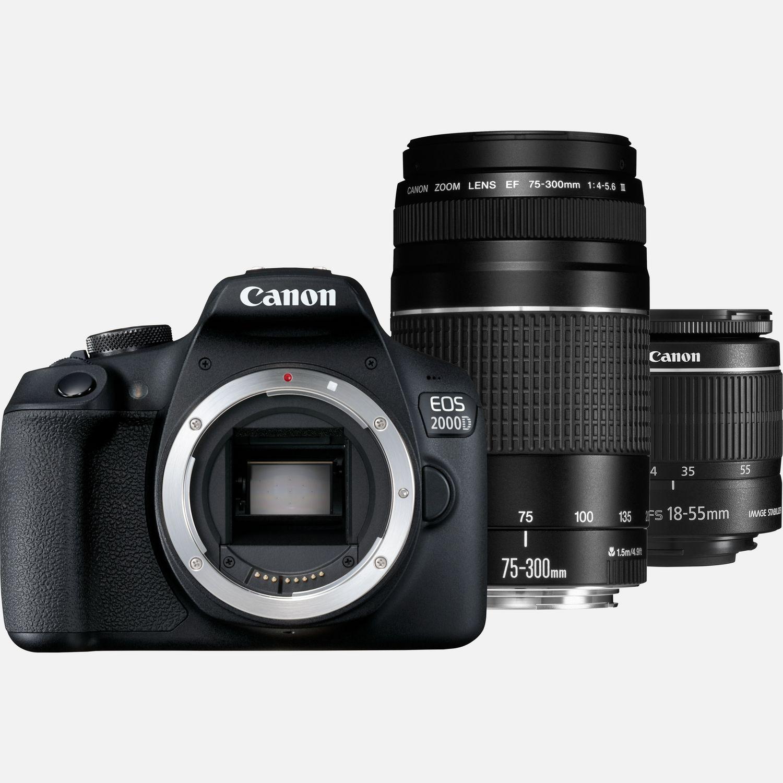 Canon Eos 2000d: Buy Canon EOS 2000D + EF-S 18-55mm IS II Lens + EF 75