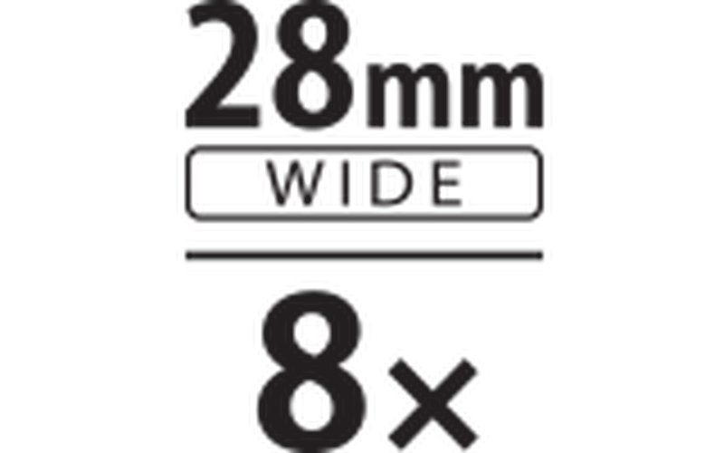 28mm 8x zoom