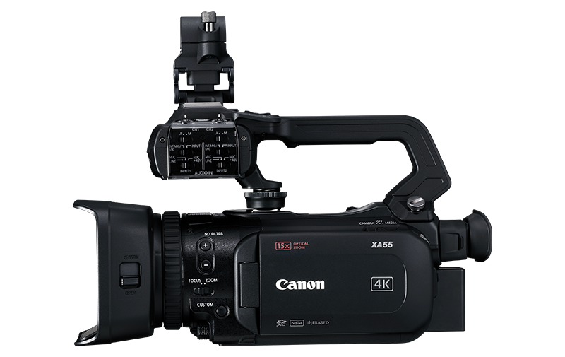 Canon XA55/XA50 Specification Intro