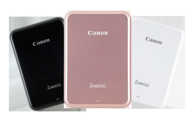 Canon Zoemini comes in Three Colours