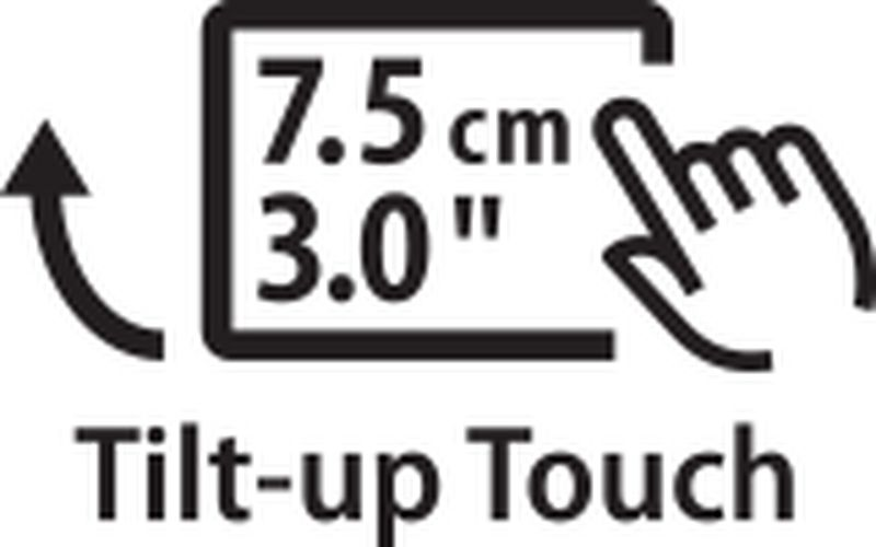 8.0cm touch LCD