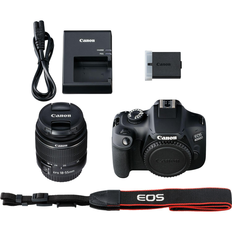 Buy Canon Eos 4000d Body Ef S 18 55mm Iii Lens In Wi Fi Cameras 1300d Kit 55 Magnify Image