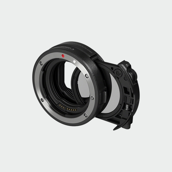 3442C005 - Drop-in Filter Mount Adapter EF-EOS R with Drop-in Circular Polarizing Filter A