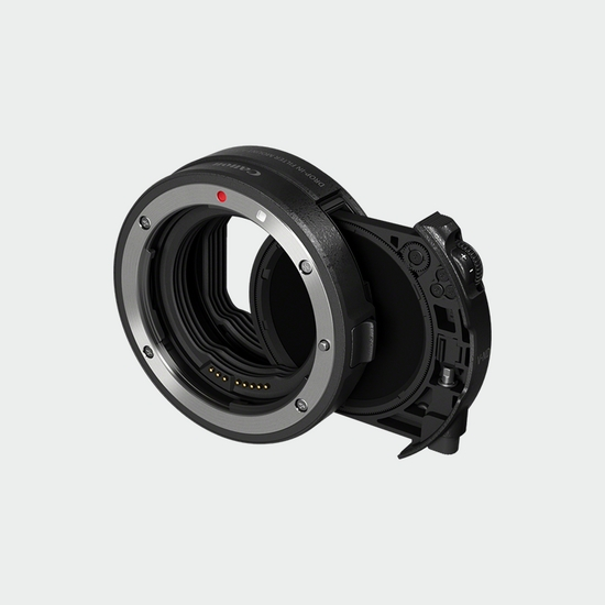 3443C005 - Drop-in Filter Mount Adapter EF-EOS R with Drop-in Variable ND Filter A