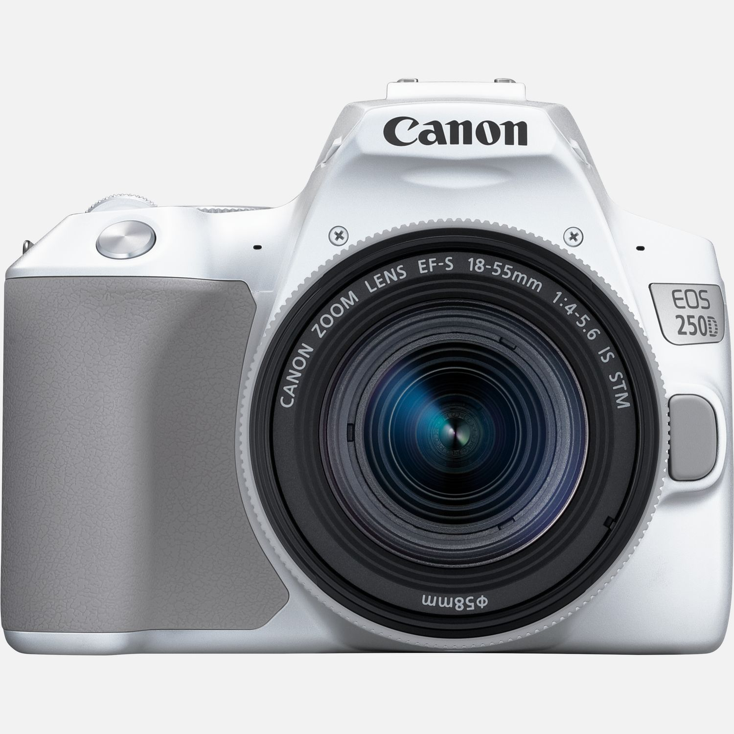Canon EOS 250D, wit EF S 18 55mm f 4 5.6 IS STM lens