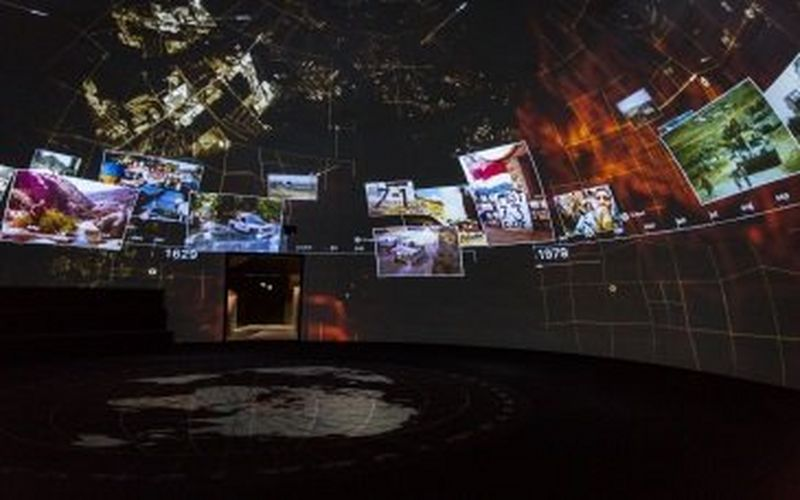 Canon projectors selected for 360° dome installation at Dutch National Military Museum